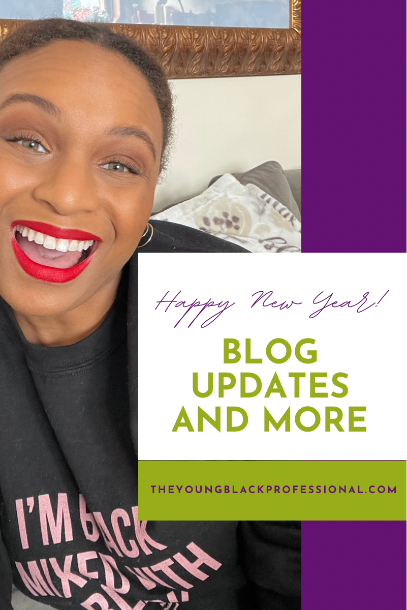 Happy New Year! Blog Updates and More